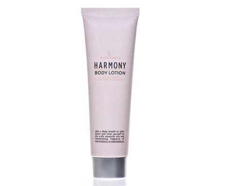 "Body lotion in 150 ml tube, Source Balance Essentials""""HARMONY"""", met etherische olie , geur Patchouli & Magnolia"