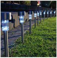 Solar Led Tuinverlichting (set van 10)