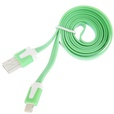 iPhone Lightning 1m flat cable wit